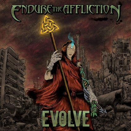 ENDURE THE AFFLICTION (USA), Evolve (2021)