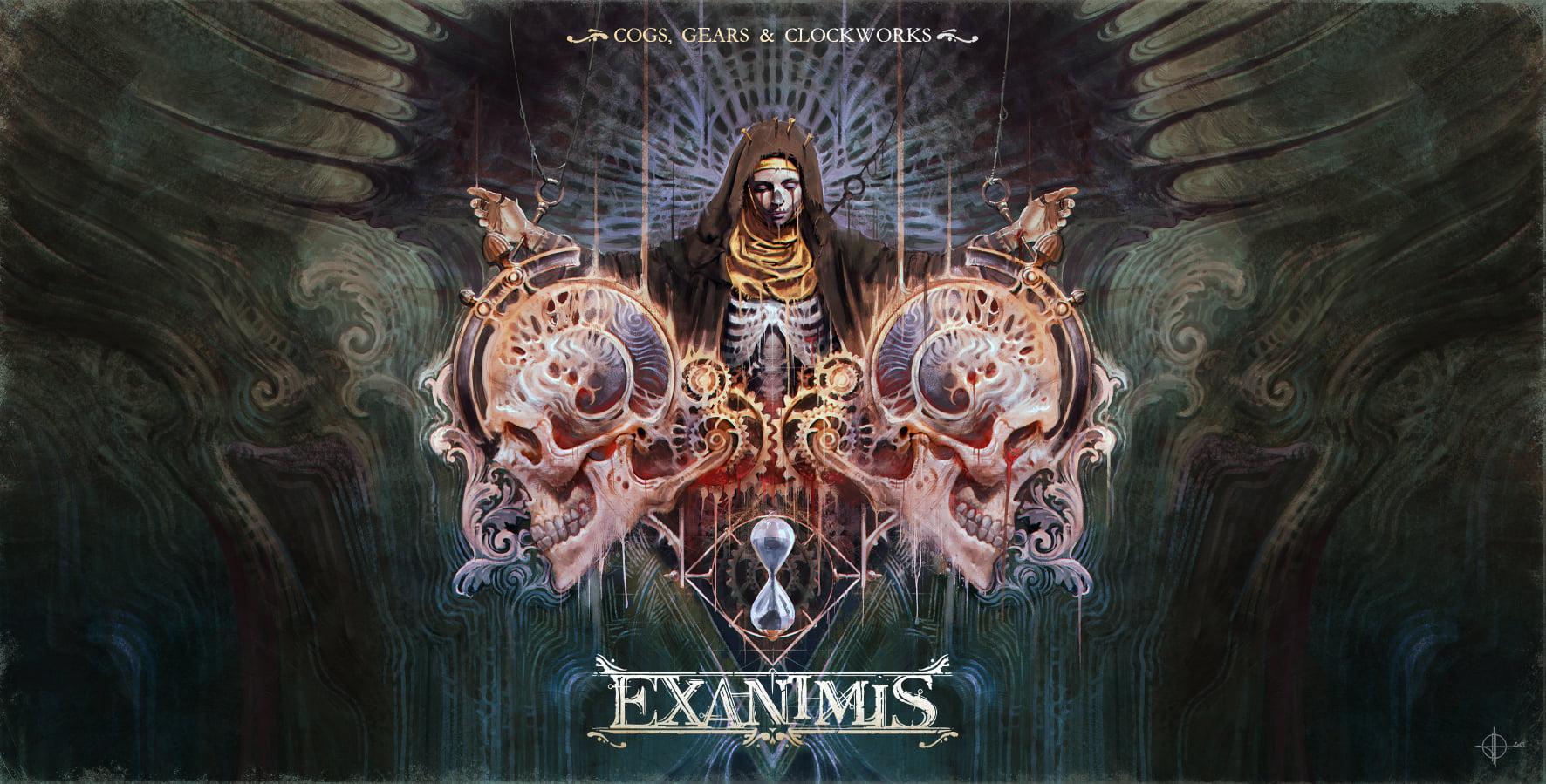 Exanimis artwork inside