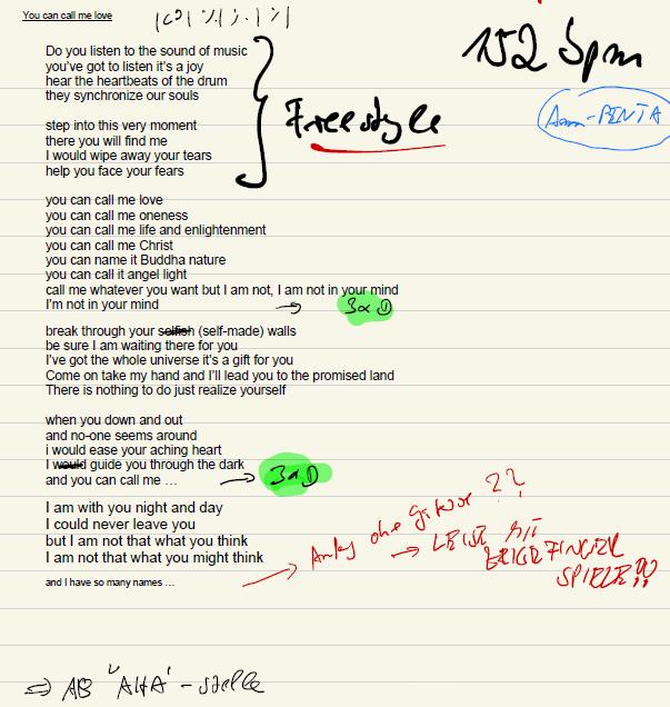 Fish and scall lyrics