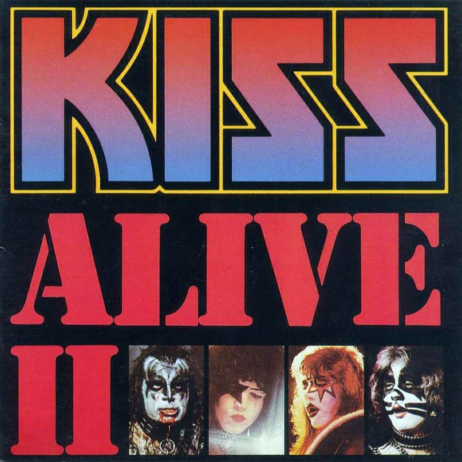 Kiss alive ii frontal