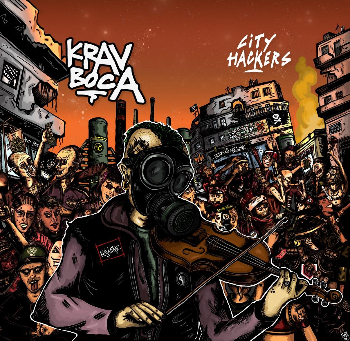 Chronique d'Album : KRAV BOCA (Rap/Punk) City Hakers (2020)