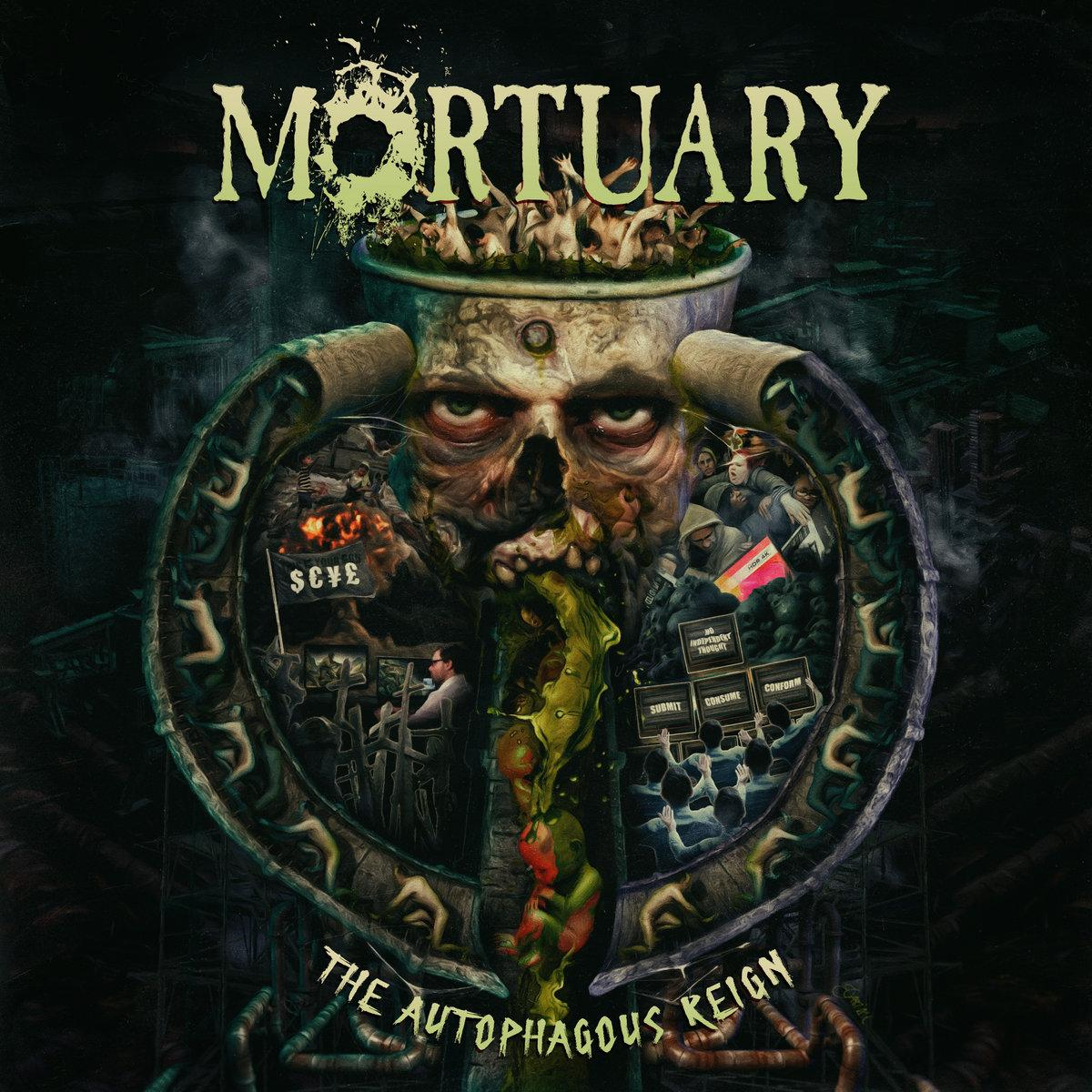 Chronique d'album : MORTUARY (Thrash Death) - The Autophagous Reign (2019)