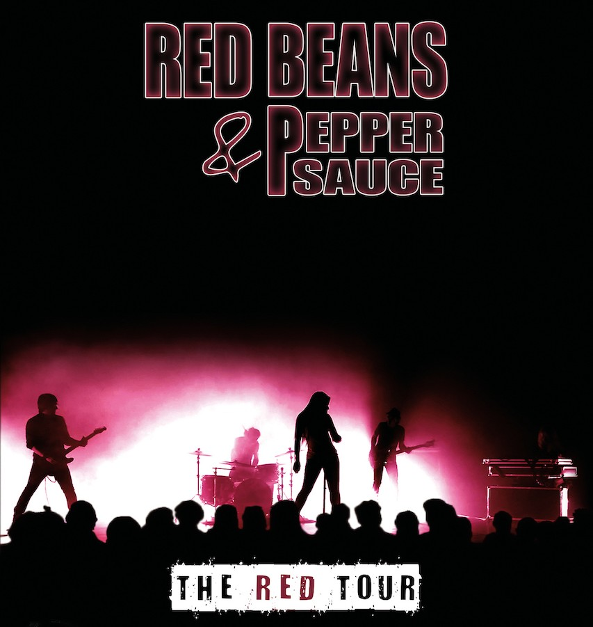 Sortie d'album : RED BEANS AND PEPPER SAUCE (Rock) The Red Tour (Live, 2019)