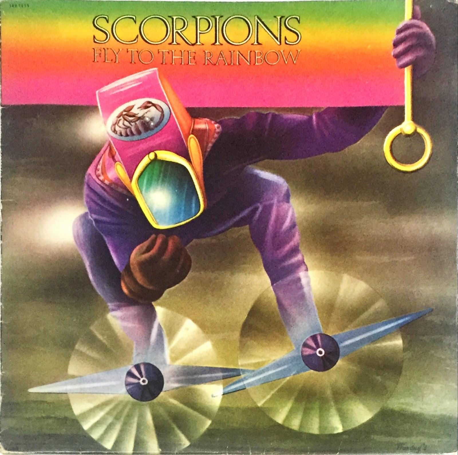 Scorpions fly