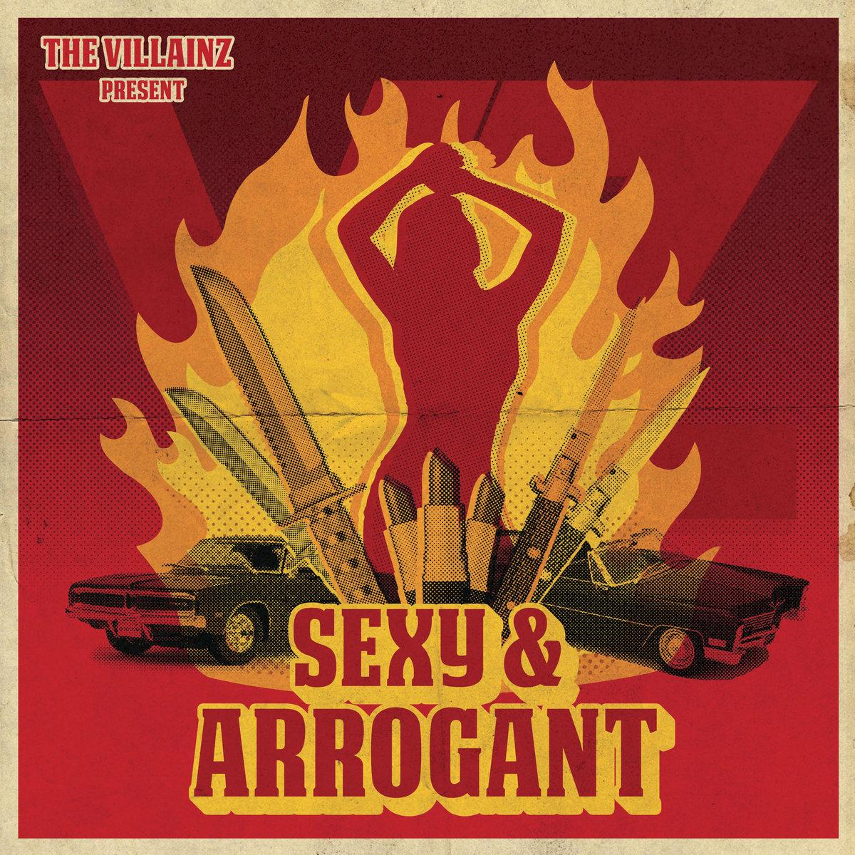 Chronique d'album : THE VILLAINZ (Rock / Punk Rock) - Sexy & Arrogant