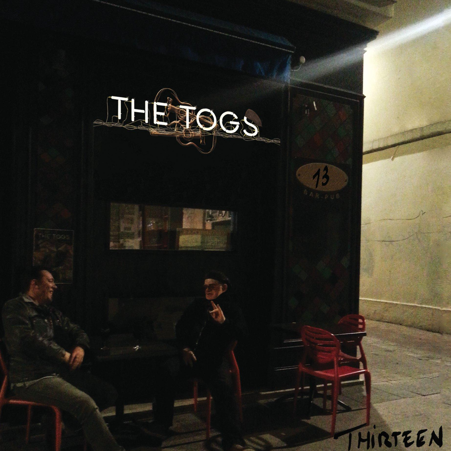 "Chronique d'Album : THE TOGS (Folk Rock Blues), ""Thirteen"" (2020)"