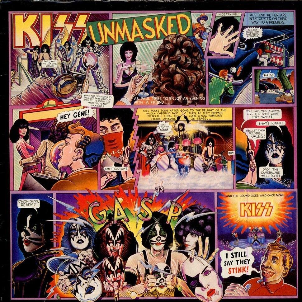 Les N'importe-Quoi d'Ahasverus : KISS, Unmasked (1980)